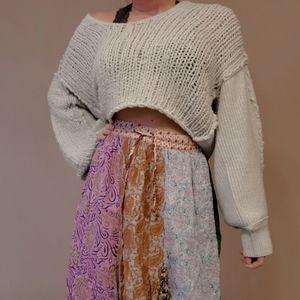 BOGO SALE - Free People Mint sweater xs nwt vneck